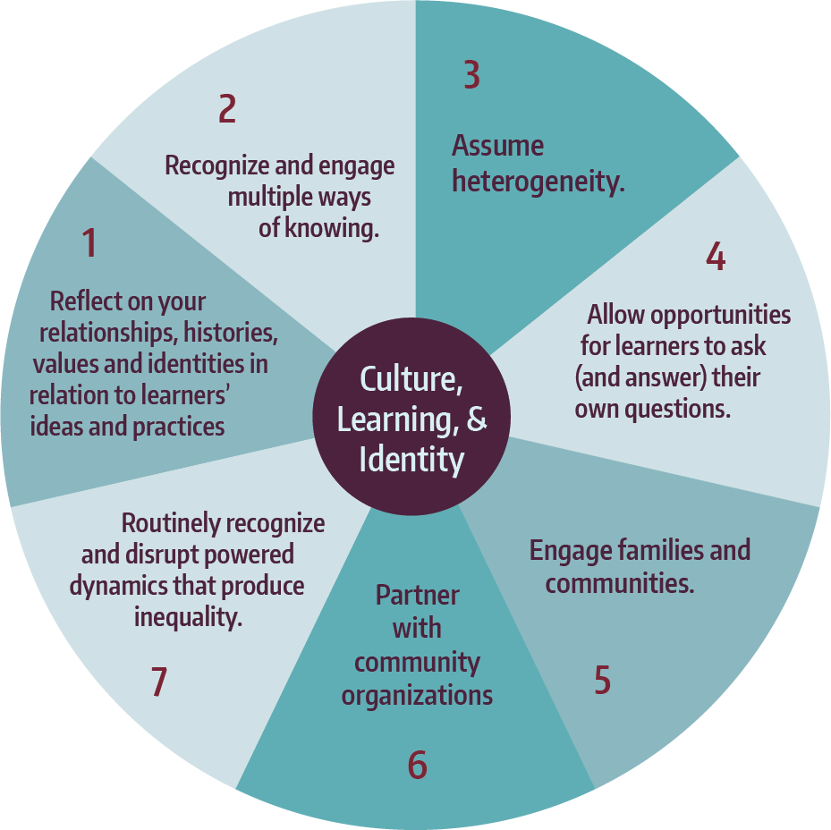 Learning in Places: Culture, learning, and identity framework